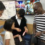 タンザニアの先生が来てくれた! 英語で他教科を学ぶコース。Erick先生の異文化理解レッスン。