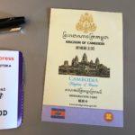 英会話Tips カンボジア日記1  カンボジアに着く前にえらい目にあった!
